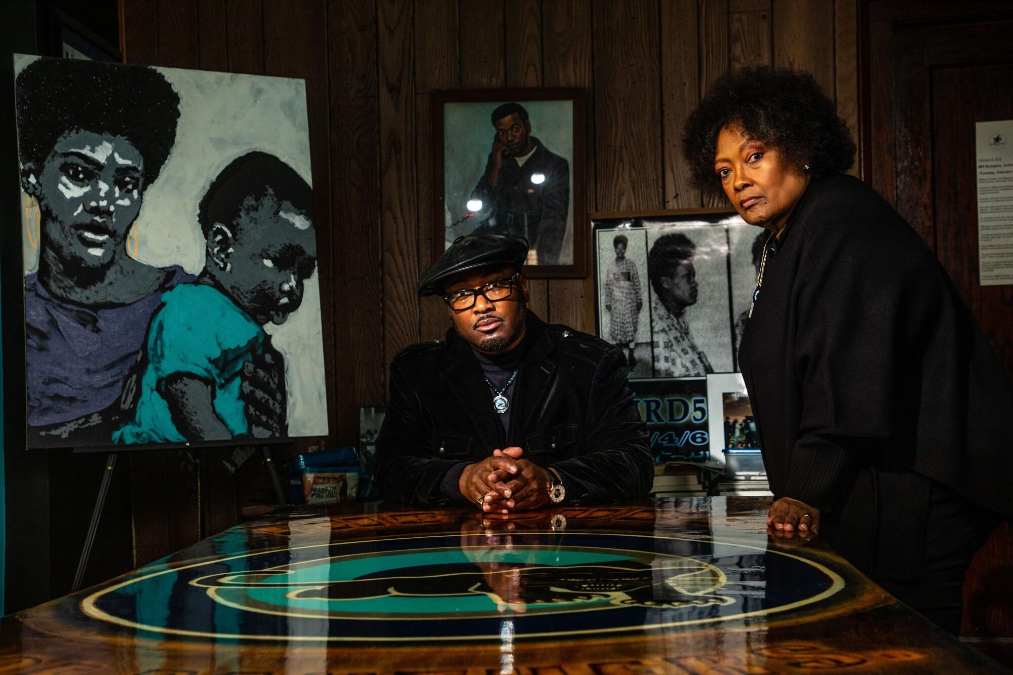 Fred Hampton Jr. son of the Slain Black Messiah Fred Hampton Black Panther Party