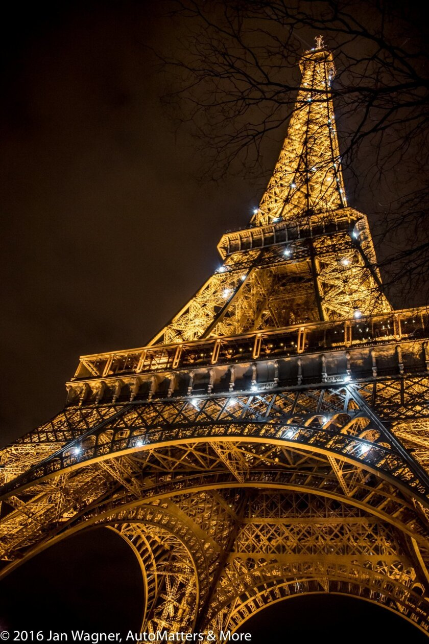 The Eiffel Tower – where I was pickpocketed