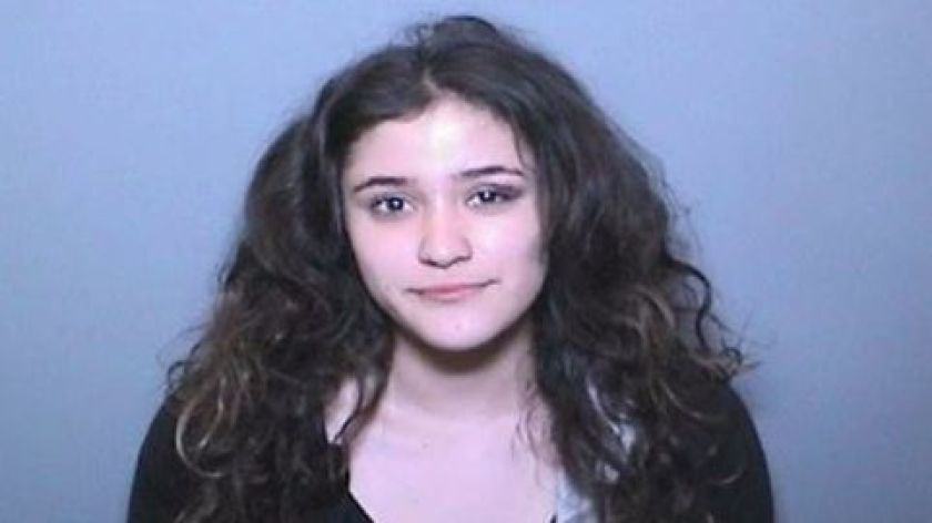 Booking photo of Jessica Aguilar