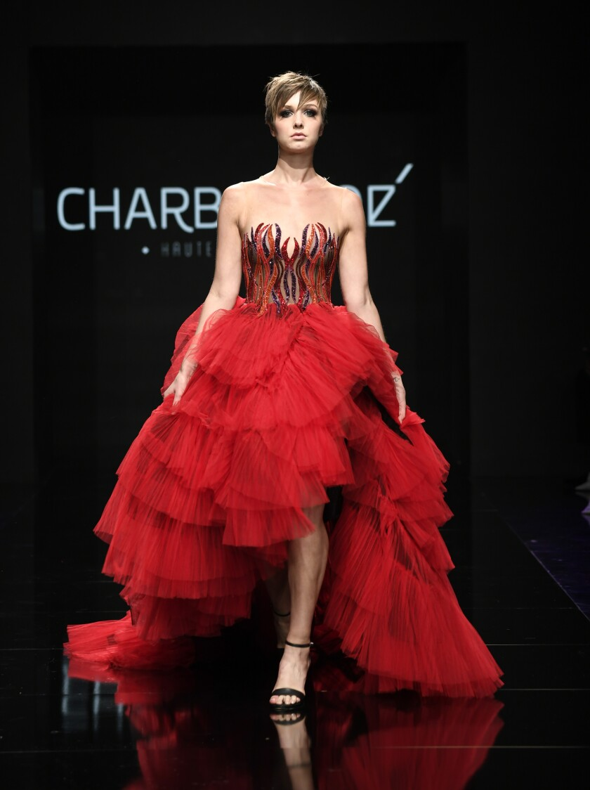 A Charbel Zoe look at Los Angeles Fashion Week Powered By Art Hearts Fashion