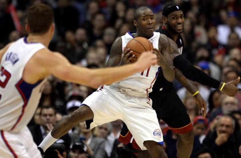Clippers' Jamal Crawford prepared to start again for J J  Redick
