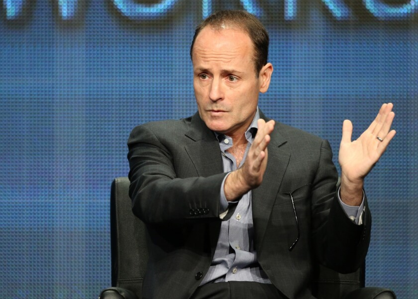 John Landgraf, Chief Executive Officer of FX Networks and FX Productions, speaks onstage during the Executive Session at the FX portion of the 2013 Summer Television Critics Association tour.