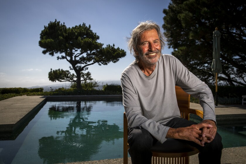 Bob Shaye at home