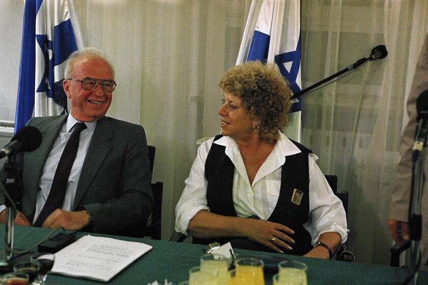 Shulamit Aloni, Yitzhak Rabin