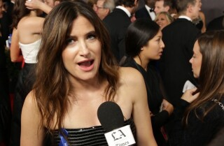 Emmys 2017: Kathryn Hahn on the red carpet