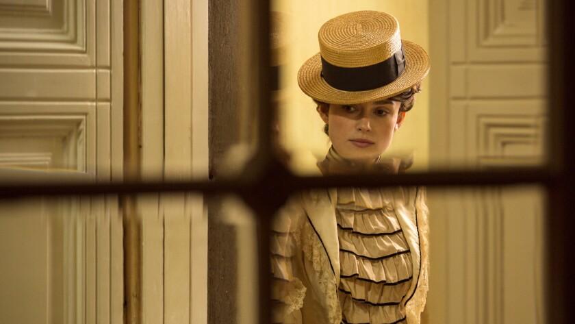 "Keira Knightley in the film ""Colette."""