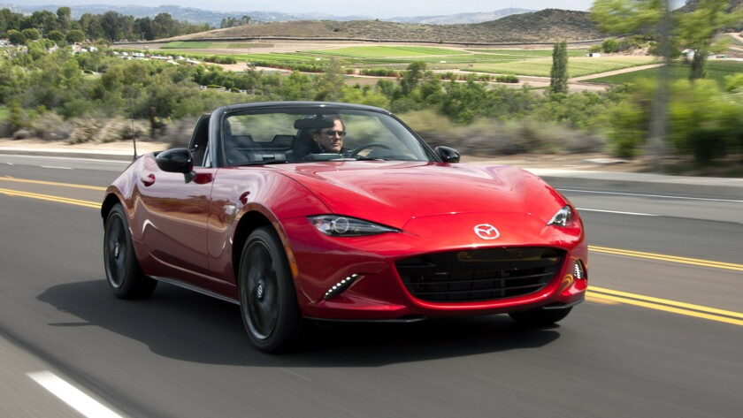 Mazda's fourth-generation Miata, the first new MX-5 since 2006, delivers better fuel economy than its predecessor.