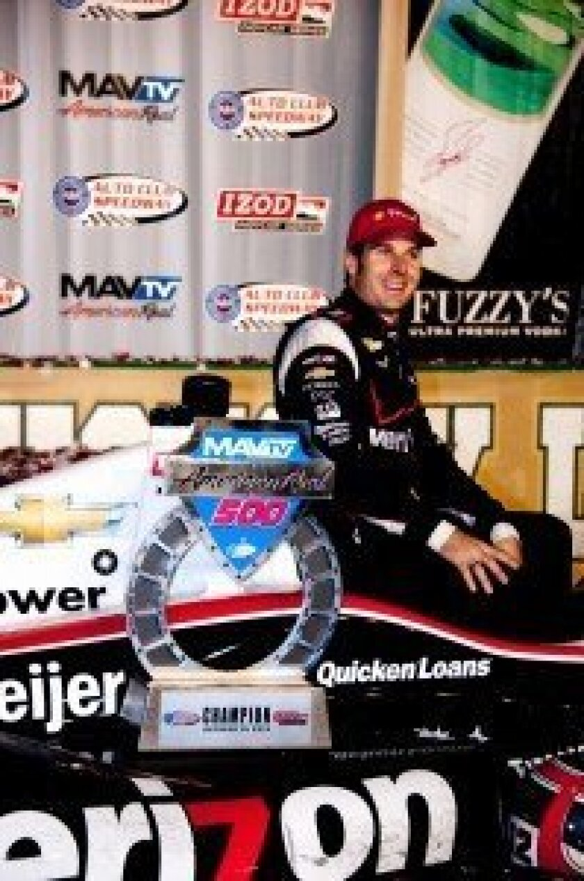 Will Power – MAVTV 500 race winner