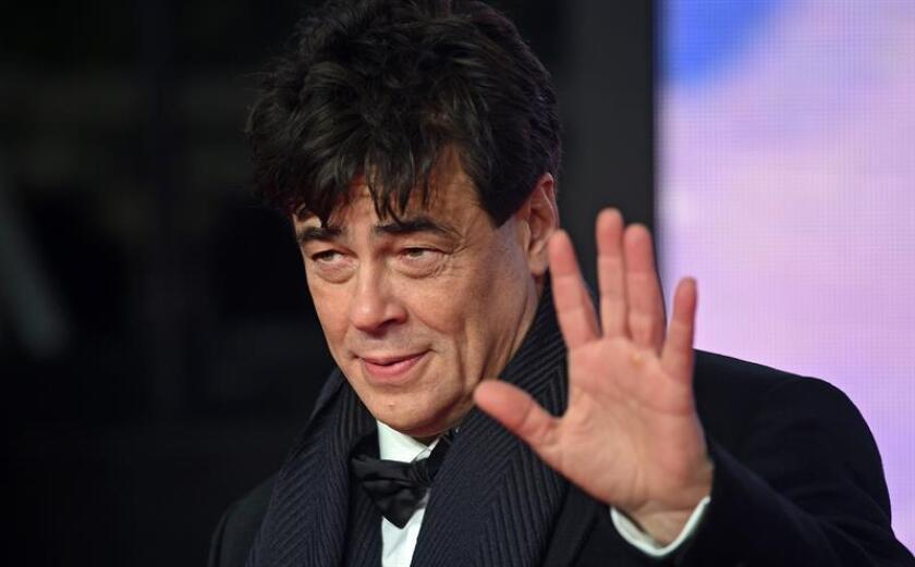 El actor puertorriqueño Benicio del Toro. EFE/Archivo