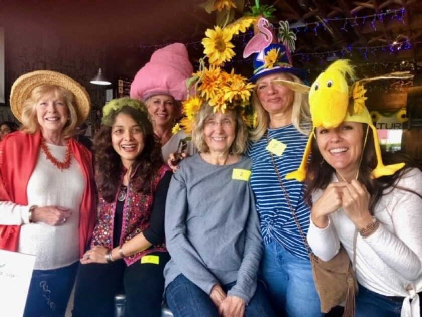 Annual Hat Contest OB Woman's Club will award prizes to bonnet-bearers for Most Original, Most OBcean and Ode to May creations, 6-9 p.m. Thursday, April 2 at Culture Brewing, 4845 Newport Ave. MadMunch sandwiches will be available. To top it off, Culture and MadMunch will donate a portion of sales to OBWC's philanthropic work. Free attendance. All welcome to compete or vote. oceanbeachwomansclub.org