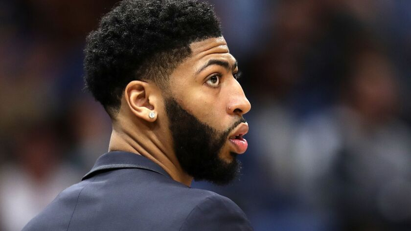 Anthony Davis' agent informed the Pelicans that the five-time All-Star will not sign a contract extension and wants to be traded.