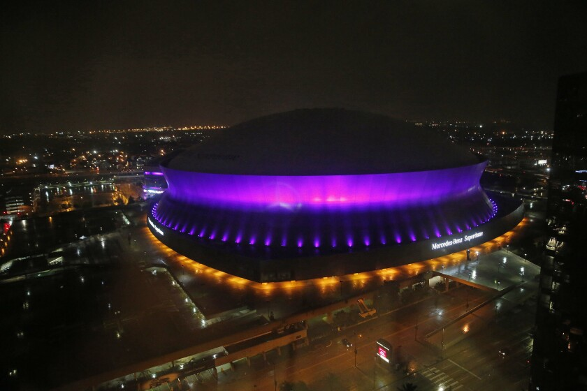 The san Diego Chargers will play the Saints Sunday in New Orleans.
