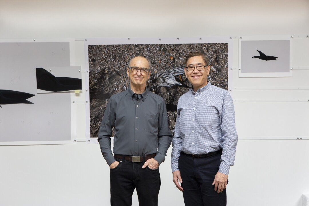 Frank Masi, left, and Brent Imai, co-founders of Art Reality Studio.