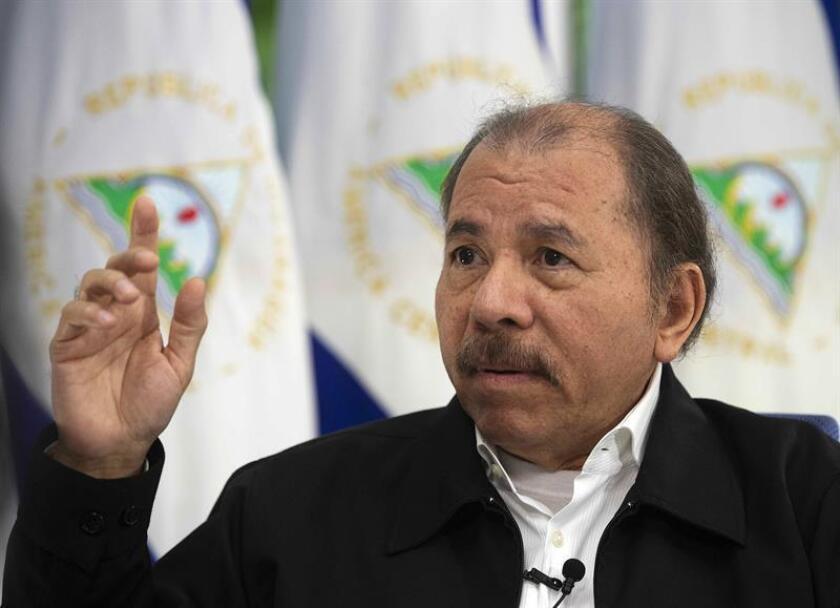 """El Departamento de Estado exigió hoy al Gobierno del presidente nicaragüense, Daniel Ortega, que libere a """"todas las personas detenidas arbitrariamente"""" y avisó de que hará que el Ejecutivo responda por su """"represión y violencia"""". EFE/ARCHIVO"""