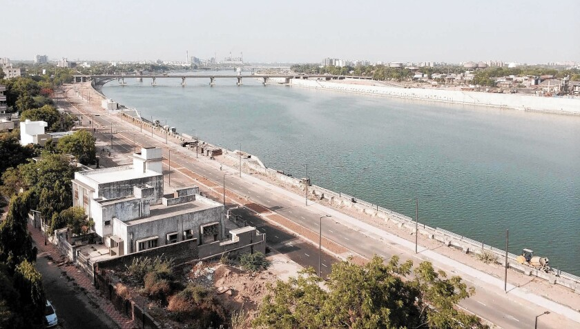 Sabarmati River project