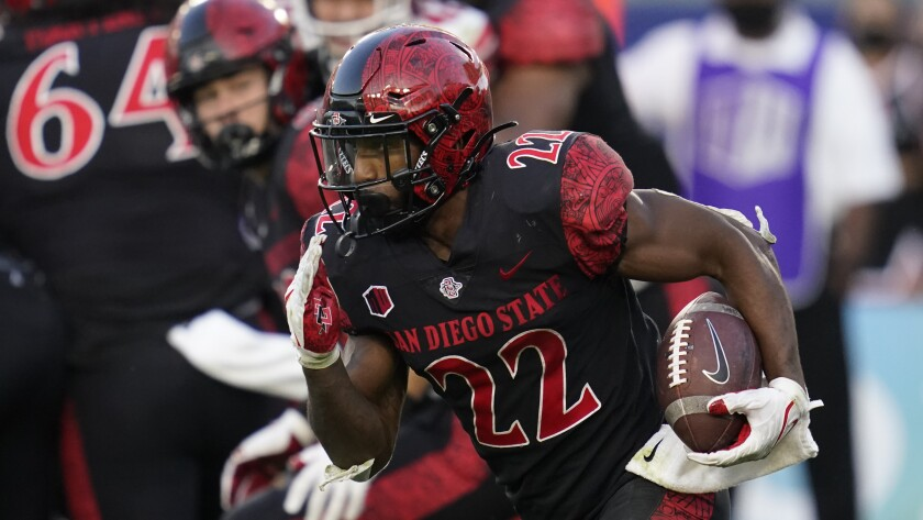 San Diego State running back Greg Bell