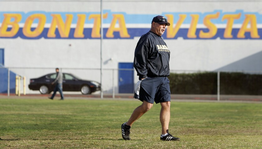 Ron Pietila is among a group of veteran coaches who have volunteered to mentor younger coaches in the South County.