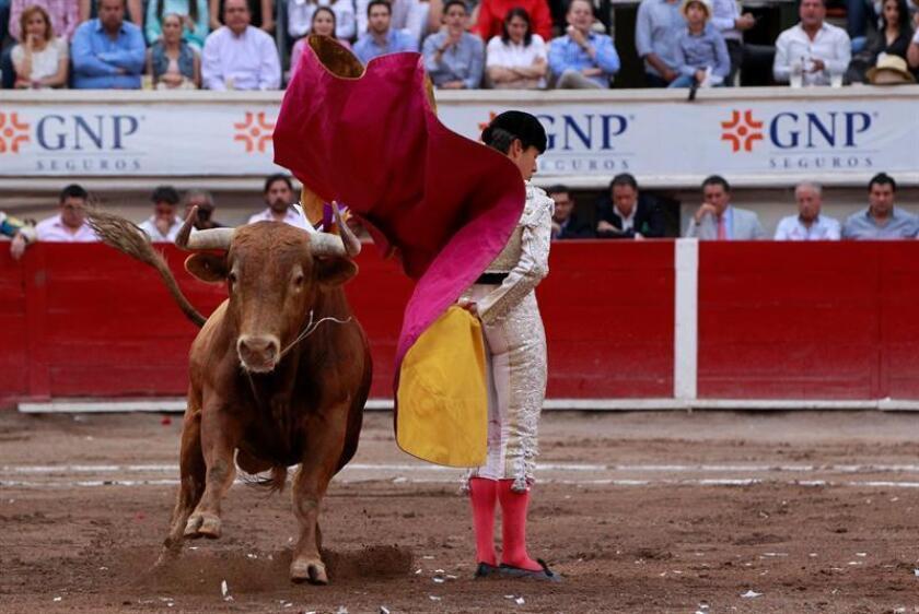 En la imagen, el torero mexicano, Diego Silveti. EFE/Archivo