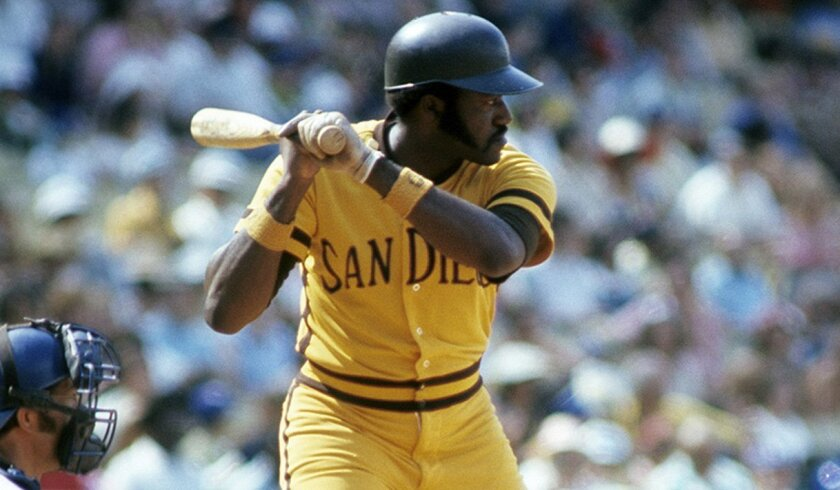 The Padres' Nate Colbert scored the winning run in the 1972 All-Star Game at Atlanta-Fulton County Stadium.
