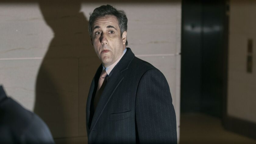 BESTPIX - Michael Cohen Continues Testimony To House Intelligence Committee