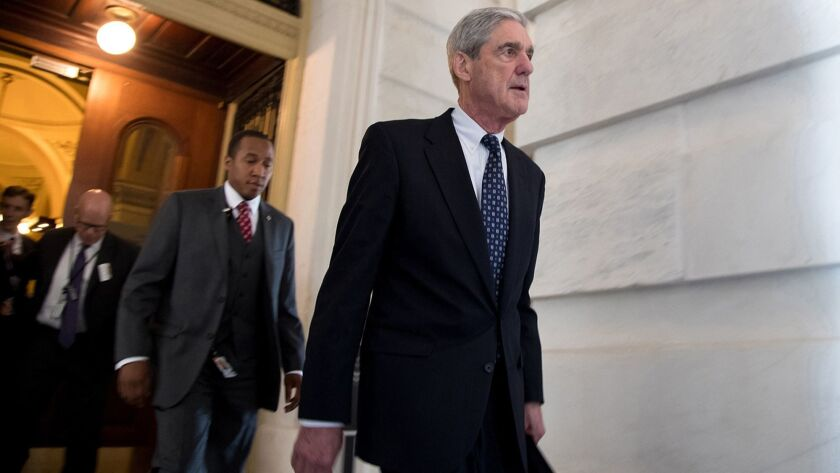 White House prepares for Robert Mueller's report — whatever it says