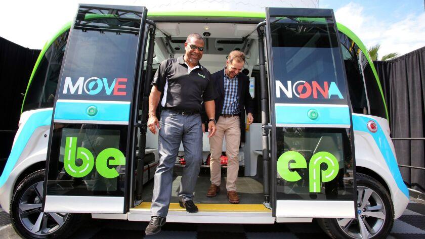 Lake Nona autonomous bus