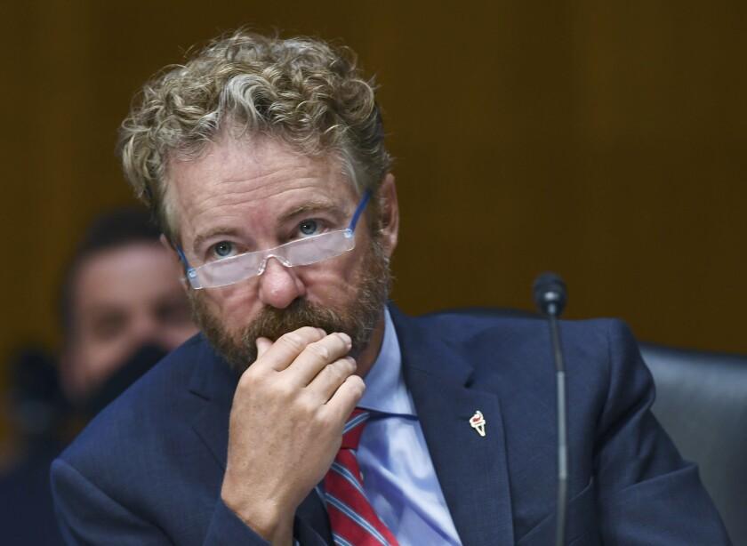 Rand Paul, during the May 12 hearings on the coronavirus pandemic