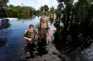 La recuperación continúa en la Florida después del huracán Irma