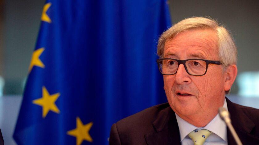 European Commission President Jean-Claude Juncker in Brussels.