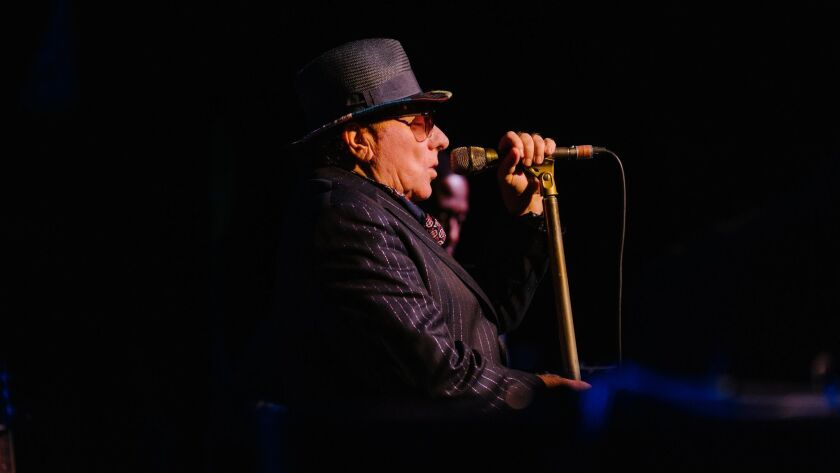 Van Morrison is shown above in late 2018.