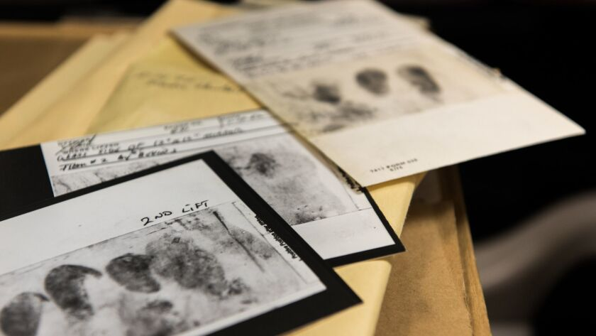Fingerprints lifted from crime scenes can be used to exonerate wrongly convicted people.