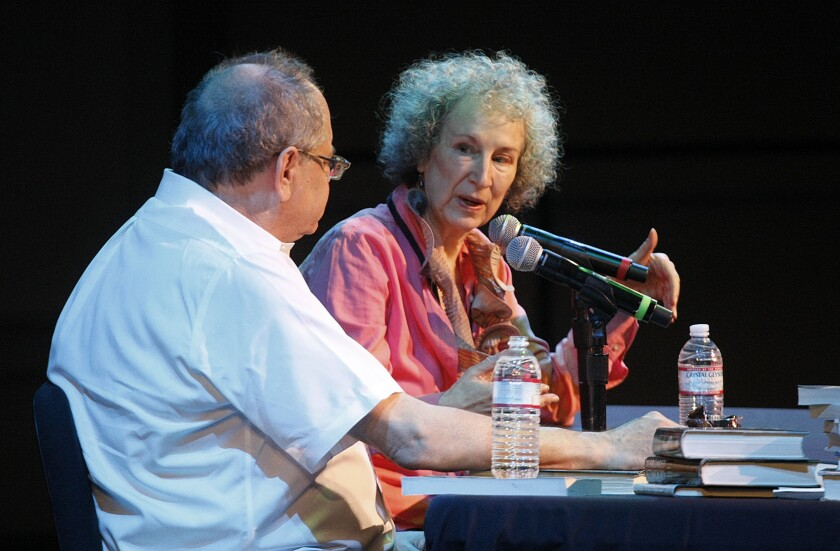 Margaret Atwood on what stokes her 'bloodthirsty' imagination