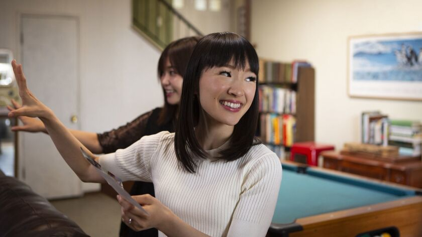 """The tenets of """"Marie Kondo-ing"""" your home are simple: Hold every item you own. If it sparks joy, keep it. If not, get rid of it."""
