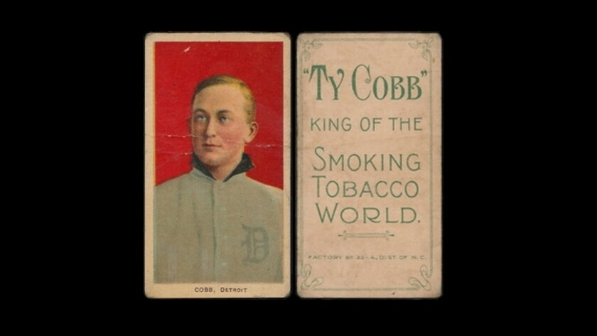 Family Discovers Seven Ty Cobb Baseball Cards Worth More Than 1