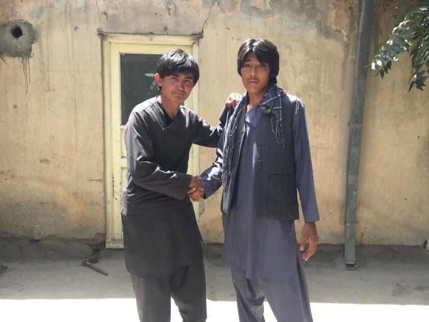 Ibrahim and Ali, who use no last name