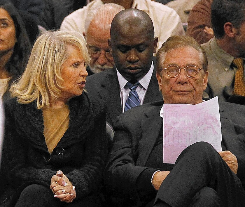Shelly Sterling is reportedly trying to sell the Clippers in advance of a Tuesday deadline, when the 30 pro basketball teams will vote on whether to strip control of the team from her and Donald Sterling.