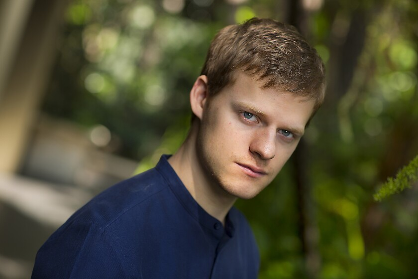 BEVERLY HILLS, CA., OCTOBER 29, 2018 ---Actor Lucas Hedges who has two awards season films in play: