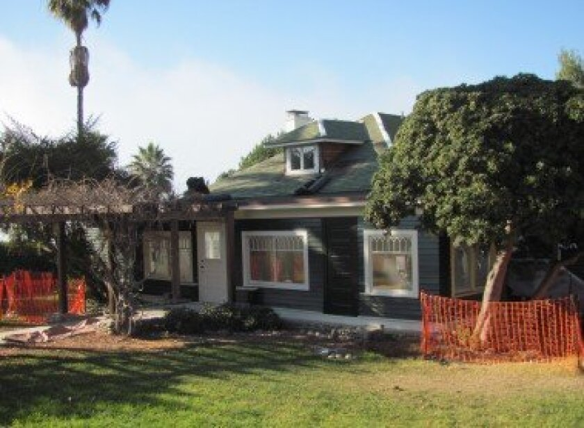 La Jolla Historical Society Executive Director Heath Fox said Wisteria Cottage should reopen for public use the first week of May. Pat Sherman
