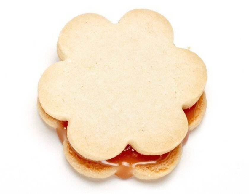 Holiday Cookie Recipe Dulce De Leche Cookies Los Angeles Times