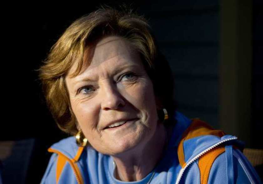 Pat Summitt coached at Tennessee for 38 seasons.
