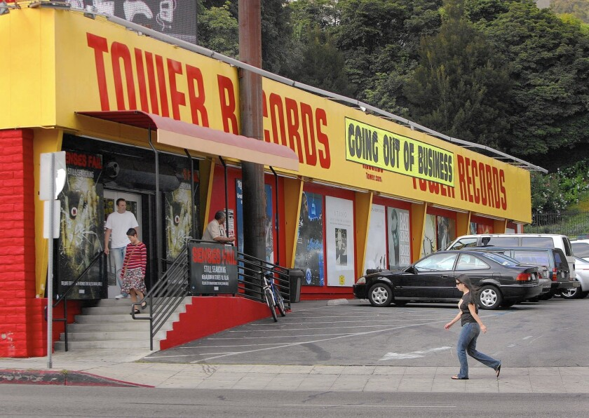 Ex-Tower Records building to get new life
