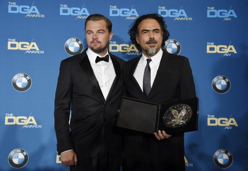 Alejandro G. Inarritu wins his second consecutive DGA award for 'The Revenant'