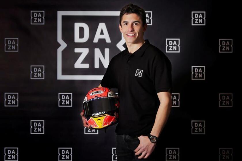 """El piloto de MotoGP y campeón del Mundo Marc Márquez durante la entrevista concedida a Efe en la nave que tiene en Cervera, su refugio, en la fase final de su recuperación que ha sido """"más dura"""" de lo que esperaba. EFE"""