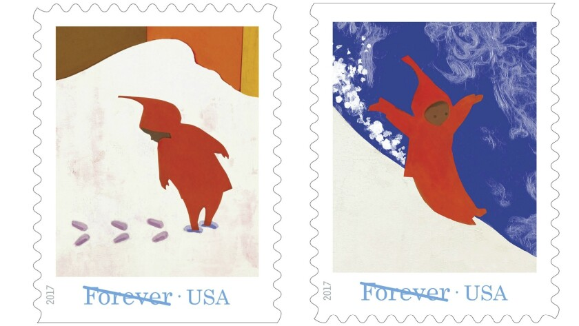U S Postal Service Unveils Series Of Stamps Honoring