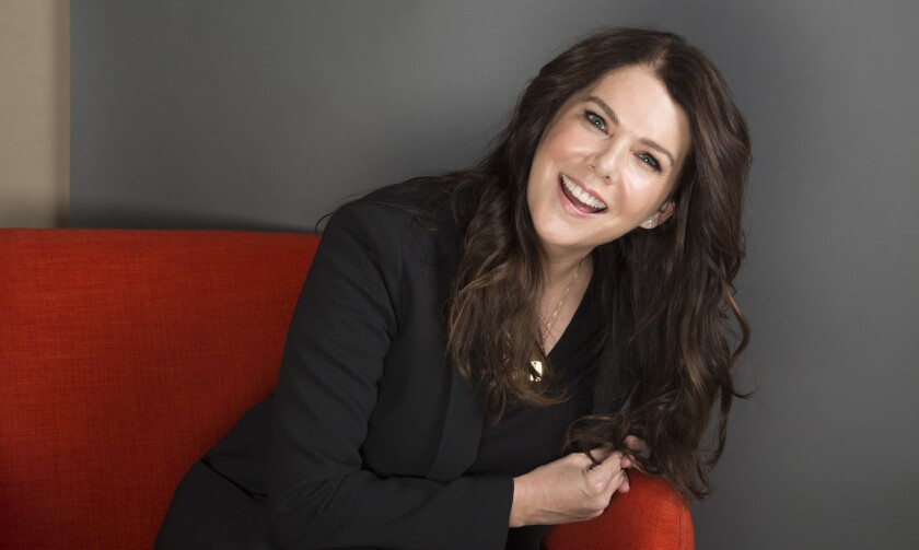 """Lauren Graham not only reprises her role as Lorelai in Netflix's revival of """"Gilmore Girls,"""" but she also has a collection of essays, """"Talking as Fast as I Can: From Gilmore Girls to Gilmore Girls (and Everything in Between)"""" out this week."""