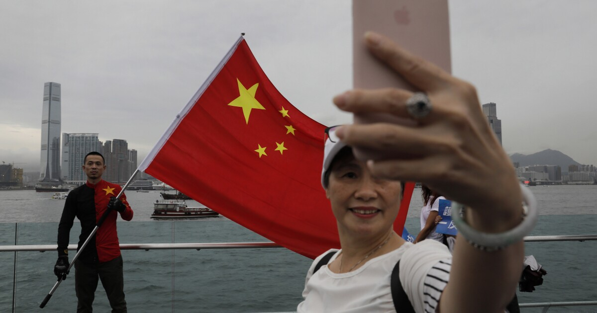 Anti-Hong Kong users blocked by Twitter and Facebook say they're Chinese patriots, not propagandists