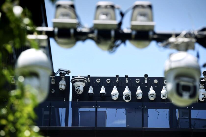 Dahua surveillance cameras