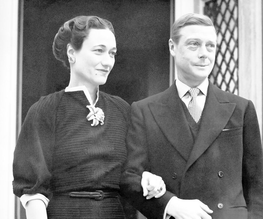 The Duke of Windsor, Prince Edward, and the Duchess, the former Wallis Simpson, are together at the Villa la Croe, Cap D'Antibes, Cannes, France on Jan. 11, 1939, where they spent the year-end holidays. (AP Photo)