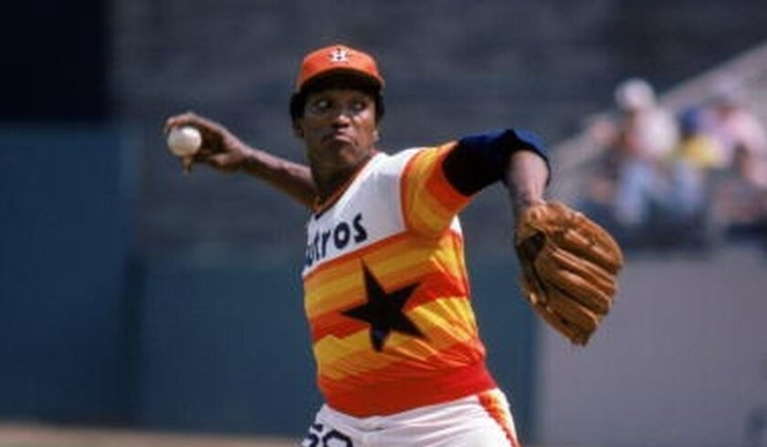 Houston Astros pitcher J.R. Richard was selected to start on the mound for the NL in the 1980 All-Star Game at Dodger Stadium.