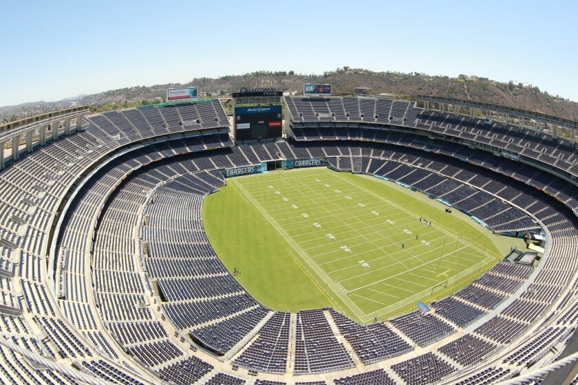 The mayor's newly appointed task force has been charged with looking at two stadium sites, including the Qualcomm location in Mission Valley.